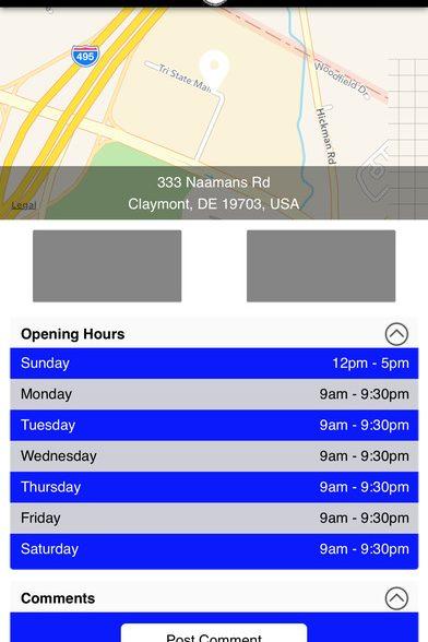 Tri-State Liquor's Mobile App in the Apple Store