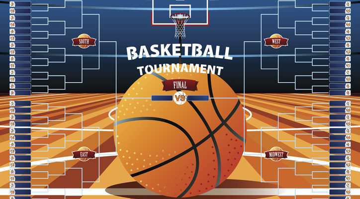 March Madness facts and Printable Bracket